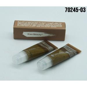 EXFOLIANTE KISS BEAUTY PARA LABIO COFFEE X12UND 70245-03