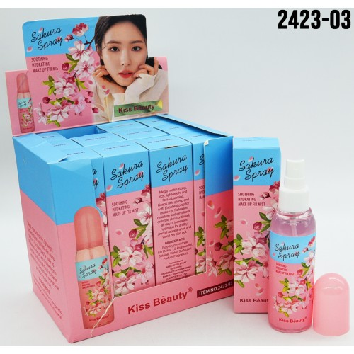 FIJADOR KISS BEAUTY SAKURA ROSA 130ML X12UND 2423-03