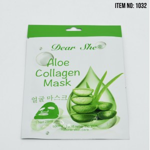 MASCARILLA DEAR SHE ALOE COLLAGEN 28ML X1UND 1032